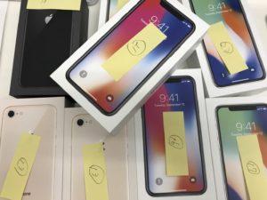 大量買取 iPhoneX iPhone8