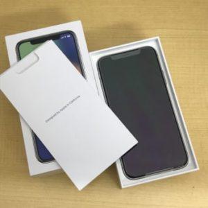 新品 iPhoneX 64GB